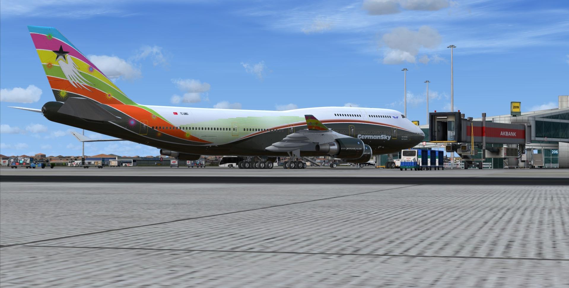 B747-400ER Ben Ozgurum