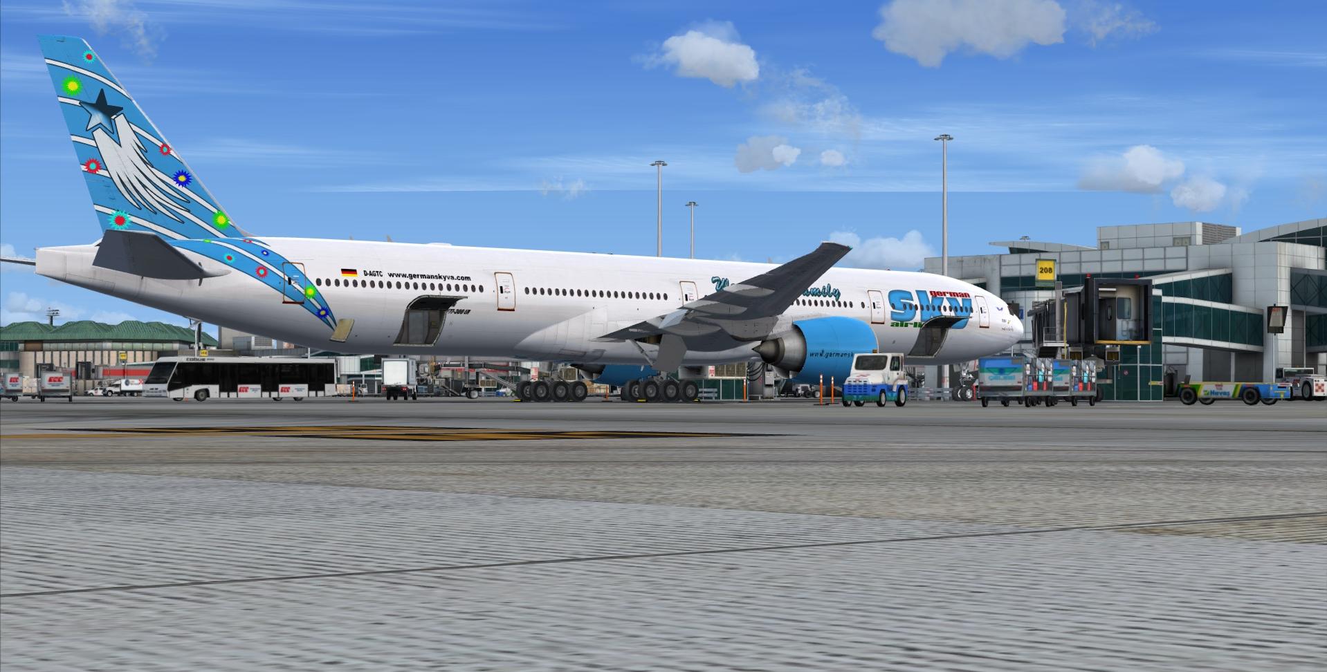B777-300ER Dubai D-AGTC