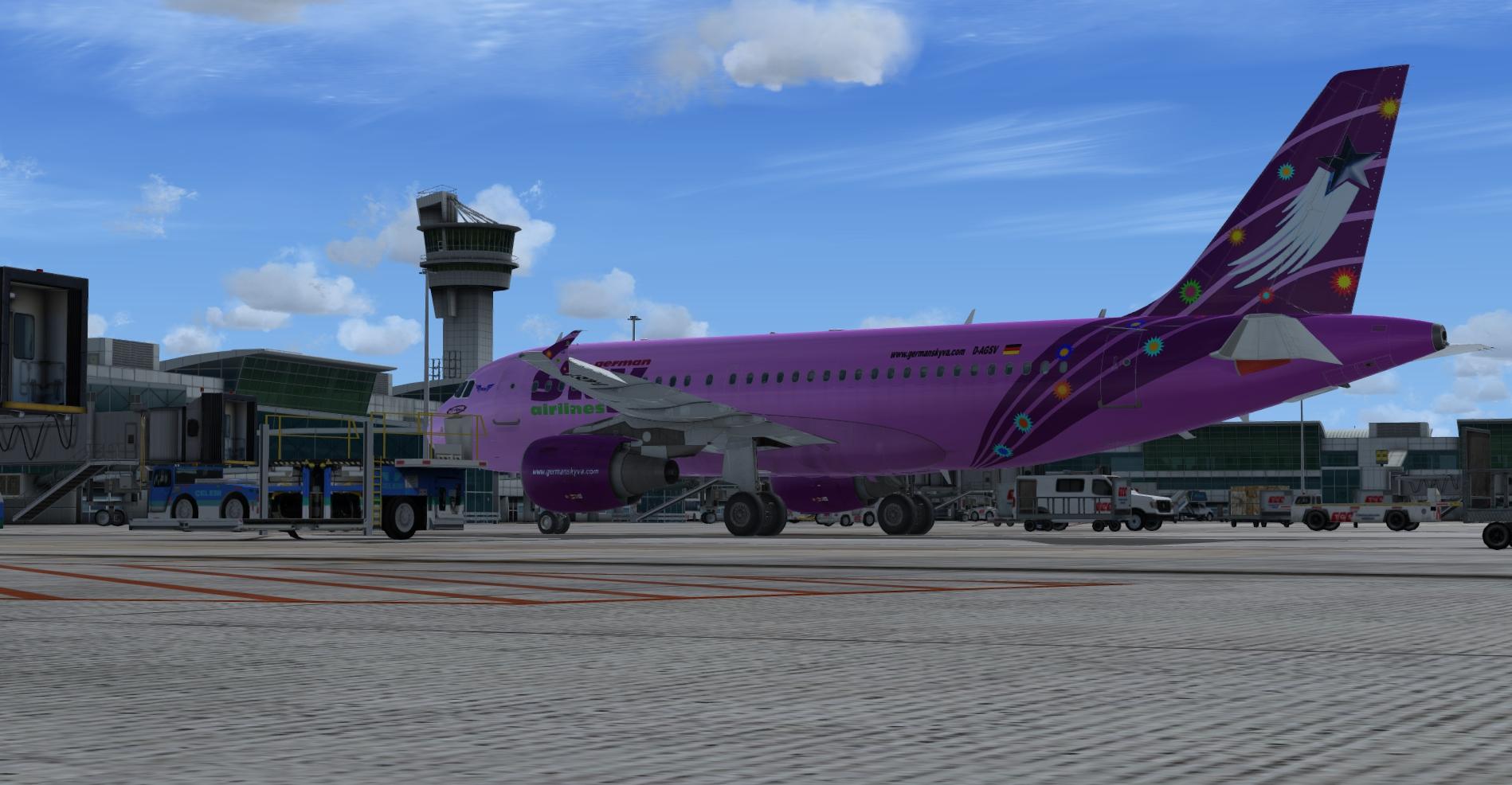 A319 Niedersachsen D-AGSV