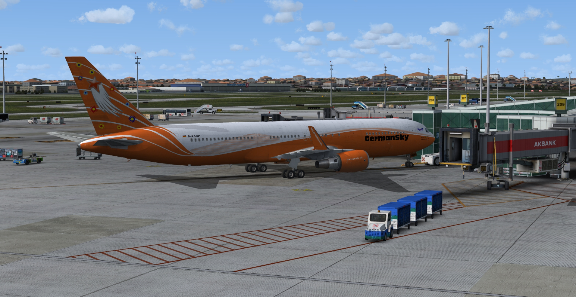 Boeing 767 Weismain II D-AGOP
