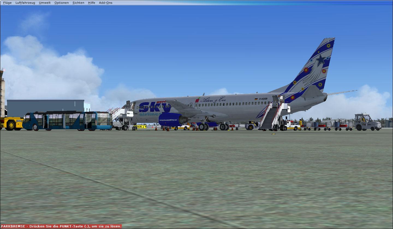 Boarding!